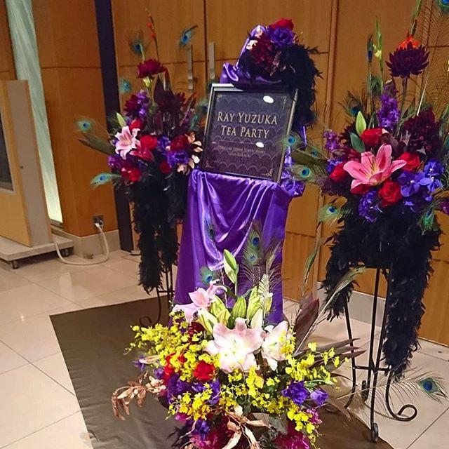 お茶会の花装飾のお仕事でした!楽しかったです!素敵でした☺️💕
